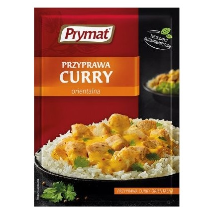 "Condimento ""Curry"" (Prymat, 20g/25)"