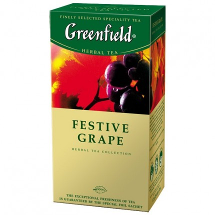 "Чай ""Festive Grape"" (Greenfield, 25*2g/10)"