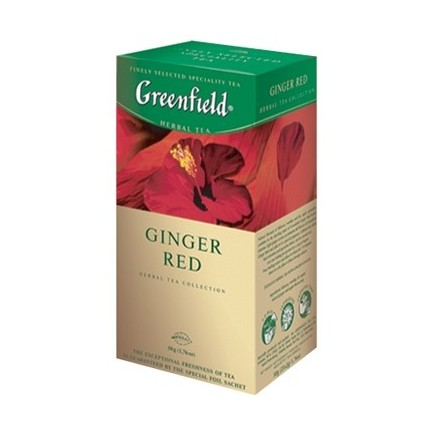 "Infusion ""Ginder Red"" (Greenfield, 25x1,5g/10)"