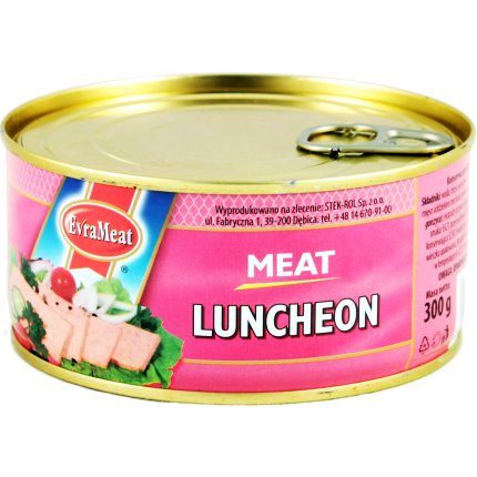 Luncheon meat (EvraMeat, 300g/12)