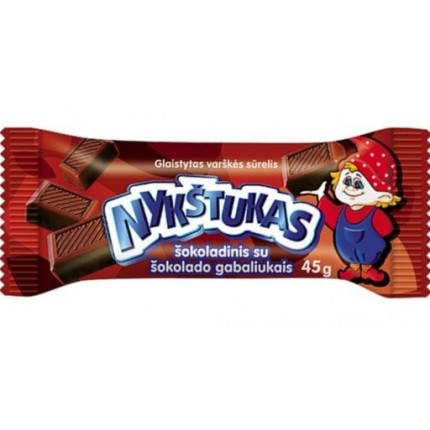 "Requeson ""Nykstukas"" con chocolate (45g/12)"