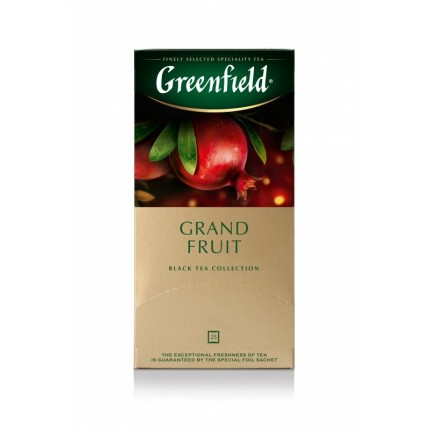 "Te negro ""Grand Fruit"" (Greenfield, 25*1.5g/10)"