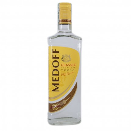 "Vodka ""Medoff"" classic (500ml/20, 40% alc)"