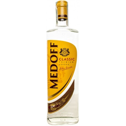 "Vodka ""Medoff"" classic (700ml/15, 40% alc)"