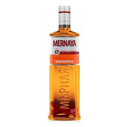 "Vodka ""Mernaya"" Honey&Pepper (500ml/20, 40% alc)"