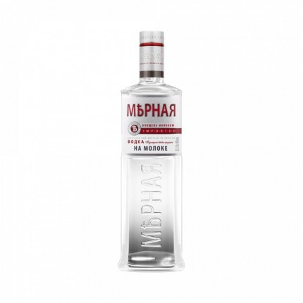 "Vodka ""Mernaya"" na moloke (500ml/20, 40% alc)"
