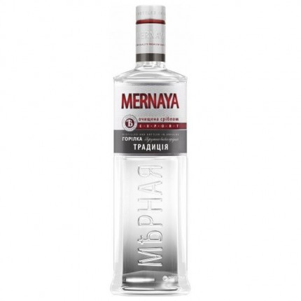 "Vodka ""Mernaya"" tradition (200ml/24, 40% alc)"