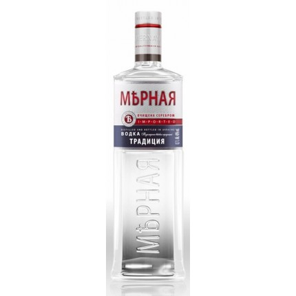 "Vodka ""Mernaya"" tradition (700ml/15, 40% alc)"