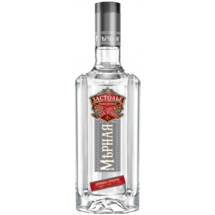 "Vodka ""Mernaya"" zastolye (500ml/20, 40% alc)"