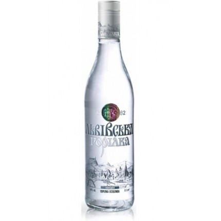 "Vodka ""Lvivska Kholodna"" 40% alc (100ml/40)"